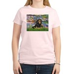 Lilies (2) & Cavalier (BT) Women's Light T-Shirt