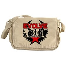 Motorcycle Evolution Messenger Bag