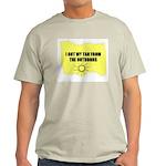 I GOT MY TAN FROM THE OUTDOORS Light T-Shirt
