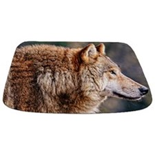 Golden Wolf Bathmat