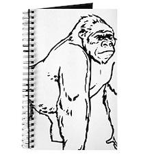 Custom Gorilla Drawing Journal