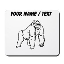 Custom Gorilla Drawing Mousepad