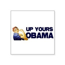 up_yours_bumper.jpg Sticker