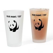 Custom Panda Bear Drinking Glass