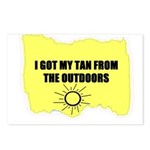 MY TAN IS REAL Postcards (Package of 8)