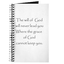 Gods will Gods Grace Journal