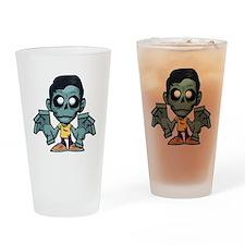 Zomboy, the zombie boy Drinking Glass