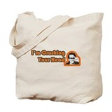 Crushing Your Head Tote Bag