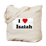 I Love   Isaiah Tote Bag