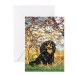Spring & Cavalier (BT) Greeting Cards (Pk of 10)