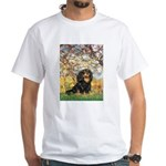 Spring & Cavalier (BT) White T-Shirt