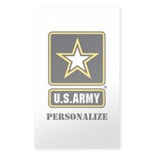 Personalize US Army Decal