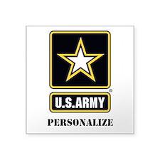 Personalize US Army Sticker