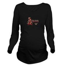 Brain Aneurysm Survi Long Sleeve Maternity T-Shirt
