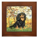 Spring & Cavalier (BT) Framed Tile