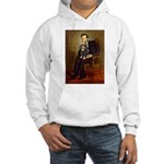 Lincoln & his Cavalier (BT) Hooded Sweatshirt
