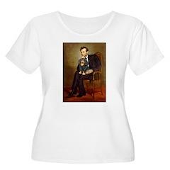 Lincoln & his Cavalier (BT) Women's Plus Size Scoo