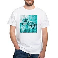Meerkats, POPart, aqua T-Shirt