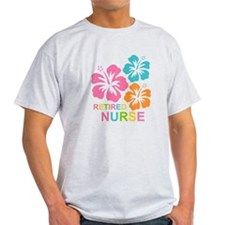 Hibiscus Retired Nurse T-Shirt