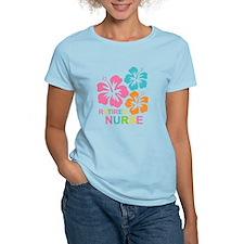 Hibiscus Retired Nurse T-Shirt