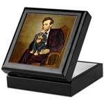 Lincoln & his Cavalier (BT) Keepsake Box