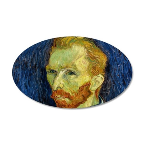 Vincent Van Gogh Self Portrait Wall Decal