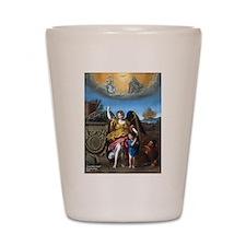 Domenichino - Guardian Angel - 1615 Shot Glass