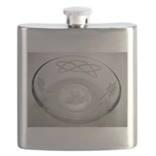 Shamrock celtic Flask
