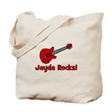 Guitar - Jayda Rocks! Tote Bag