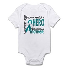 Ovarian Cancer Heaven Needed Hero Infant Bodysuit