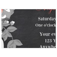 Mason Jar Chalkboard Bridal Shower Invite Invitati