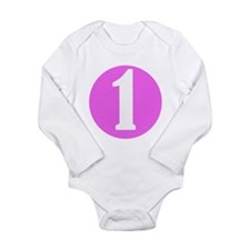 Age One Pink Infant Creeper Body Suit