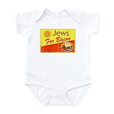 Jews For Bacon Infant Bodysuit
