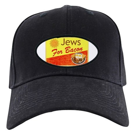 Jews For Bacon Black Cap