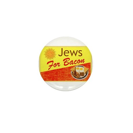 Jews For Bacon Mini Button