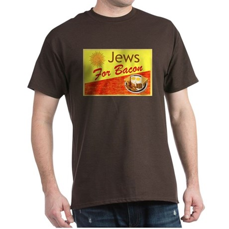 Jews For Bacon Dark T-Shirt
