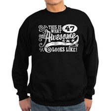 47th Birthday Sweatshirt