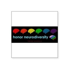 neurodiversity bumpersticker Sticker