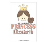 All Hail the Princess Elizabeth CUSTOM Postcards 8