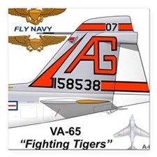 A-6 Intruder Va-65 Fightisquare Car Magnet 3""
