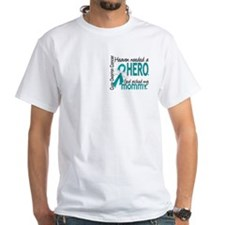 Ovarian Cancer Heaven Needed Hero 1. Shirt
