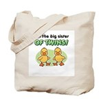 Big sister of twins - Ducks Tote Bag