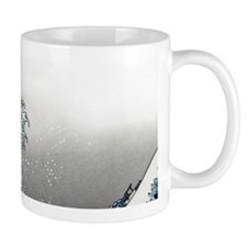 great wave of Kanagawa hokusai Mugs