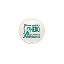 Ovarian Cancer Heaven Neede Mini Button (100 pack)