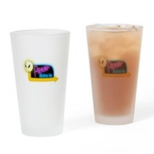 Psycho Drive-In Drinking Glass