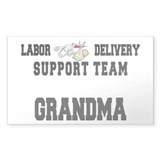 Labor Delivery Support Team Grandma Decal