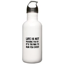 Life Run Over Water Bottle