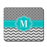 Monogrammed Mouse Pads
