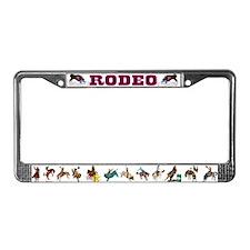Cute Wrestler License Plate Frame