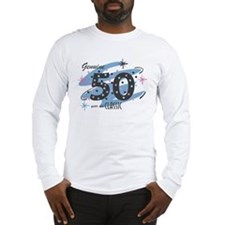 Classic 50 Confetti Long Sleeve T-Shirt